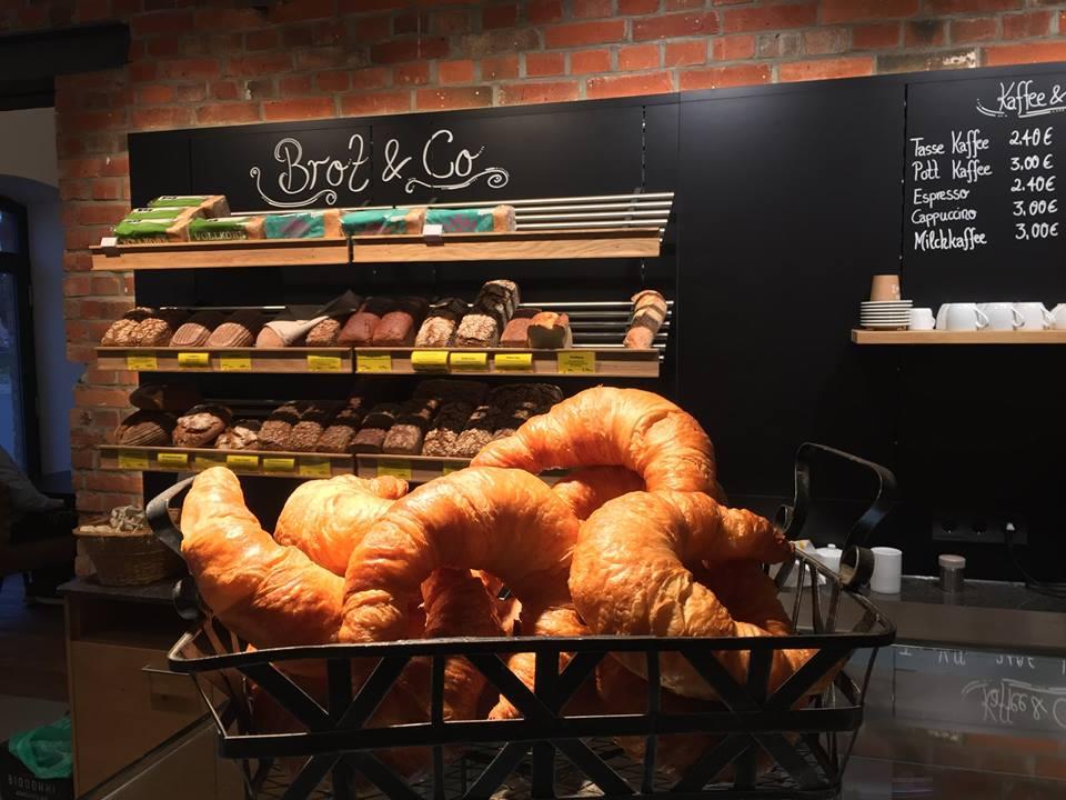 Frisches Brot bei Hansmanns